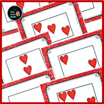 Valentine's Day Heart Cards and Five Frame Flash