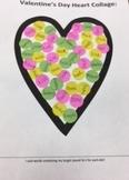 Valentine's Day Heart Collage