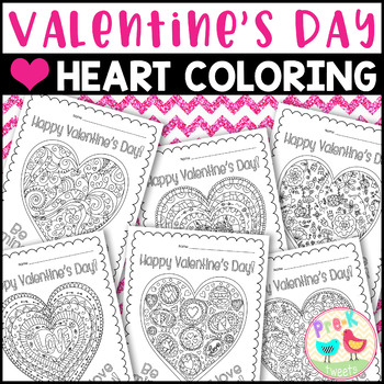 Valentine's Day Heart Coloring Pages