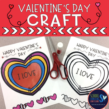 Valentine's Day Heart Craft