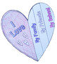 Valentine's Day Heart Craft - Flap Book