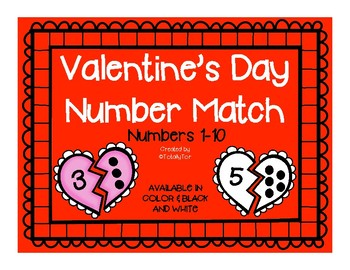 Valentine's Day - Heart Number Identification