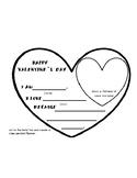 Valentine's Day Heart Pendant Banner