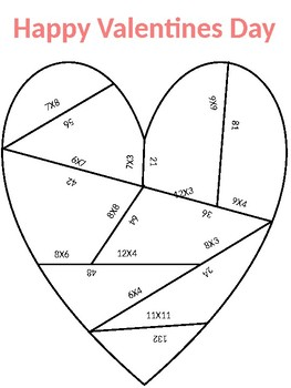 Valentine's Day Heart Puzzle