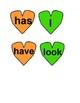 Valentine's Day Heart Sight Word Freebie