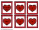 Valentine's Day Hearts 300 Fry Sight Words 'Bang' Game