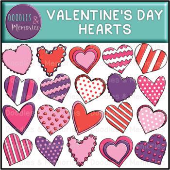 Valentine's Day Hearts Clipart