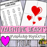Valentine's Day Hearts Graphing Mystery Picture (Coordinat