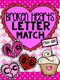 Valentine's Day Hearts Letter Match