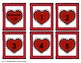 Valentine's Day Hearts Early Math Concepts (numbers 1 to 20) Bang Game