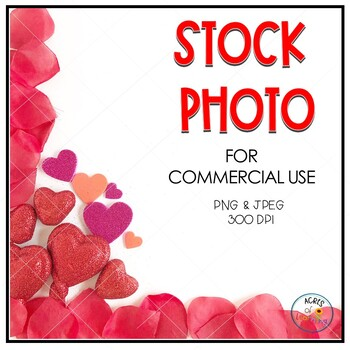 Valentine's Day Hearts Stock Photo | Styled Image