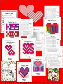 Valentine's Day Hidden Picture