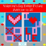 Valentines Day Hidden Picture Addition to 20