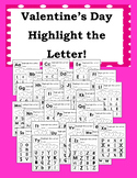 Valentine's Day Highlight the Letter