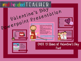 Valentine's Day History - Interactive Powerpoint