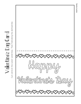 Valentine's Day Holiday Cards