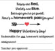 Valentine's Day Homework Pass Template {just print & cut} Super Easy Gift!
