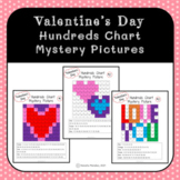 Valentine's Day Hundreds Chart Mystery Pictures