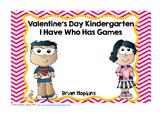 Valentine's Day I Have Who Has Kindergarten Games (5)