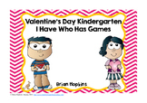 Valentine's Day I Have Who Has Kindergarten Games (5)