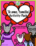 Valentine's Day I Love You Family Minibook and Activity Pa