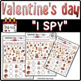 Valentine's Day ❤ I SPY ❤ Differentiated