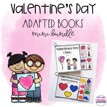 Valentine's Day I See... Adapted Books