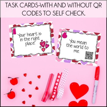 Valentines Day Activities: Valentine's Day Writing & Idioms