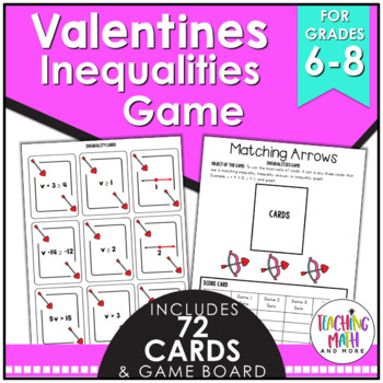 Valentine's Day Inequalities Game