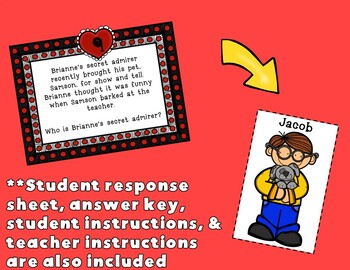 Valentine's Day Inference Game