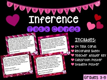 Valentine's Day Inference Task Cards