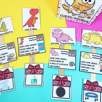 Valentine's Day Speech Therapy Circle Time, Small Group Activity for Preschool