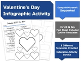 Valentine's Day Infographic Activity