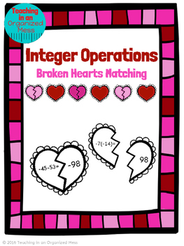 Valentine's Day Integer Operations