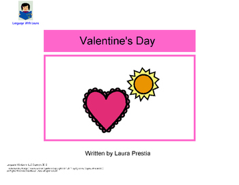 Valentine's Day - Interactive Book [speech therapy and autism]