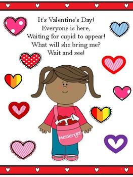 Valentine's Day Interactive Book for Pronouns, Describing, and more!
