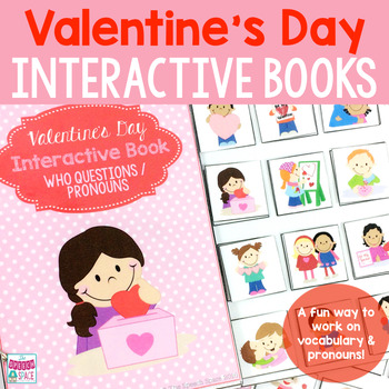 Valentine's Day Interactive Books