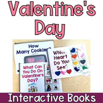 Valentine's Day Interactive Books (Adapted Books For Special Education)