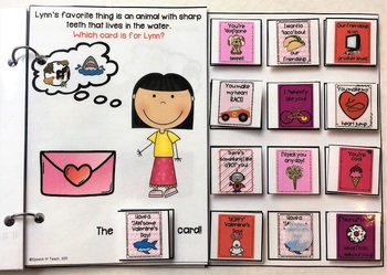 Valentine's Day Interactive Books