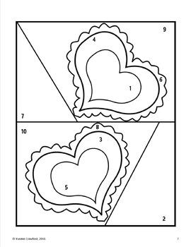 Valentine's Day Interactive Glyphs