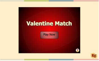 Valentine's Day Game & Puzzle Grade 1-5