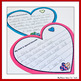 Valentine's Day Interactive Writing (Mom & Dad Valentines, Map of my Heart)