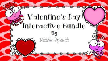 Valentine's Day Interactive and Ready to Go Activity Bundle!