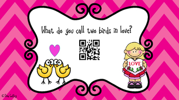 Valentine's Day Jokes and QR Code Answers