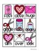 """Valentine's Day """"Kiddos Making Valentines"""" Synonyms Match"""