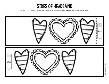 Valentine's Day Kind Words Exchange Headband