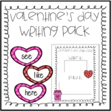 Valentine's Day Kindergarten Literacy Bundle