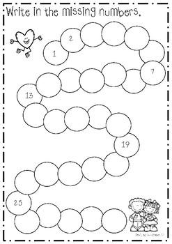 Valentine's Day Kindergarten Math Bundle
