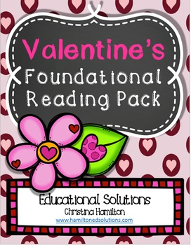 Valentine's Day Kindergarten Reading Foundational Pack
