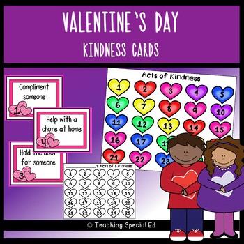 Valentine's Day Kindness Cards